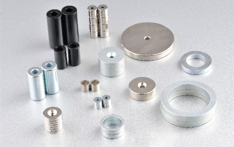 ネオジム鉄ホウ素磁石の保護技術